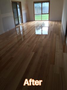 Spotted Gum Flooring After